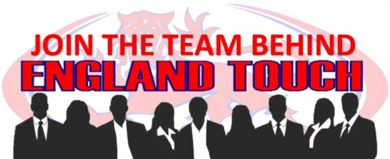 Join The Team Behind England Touch