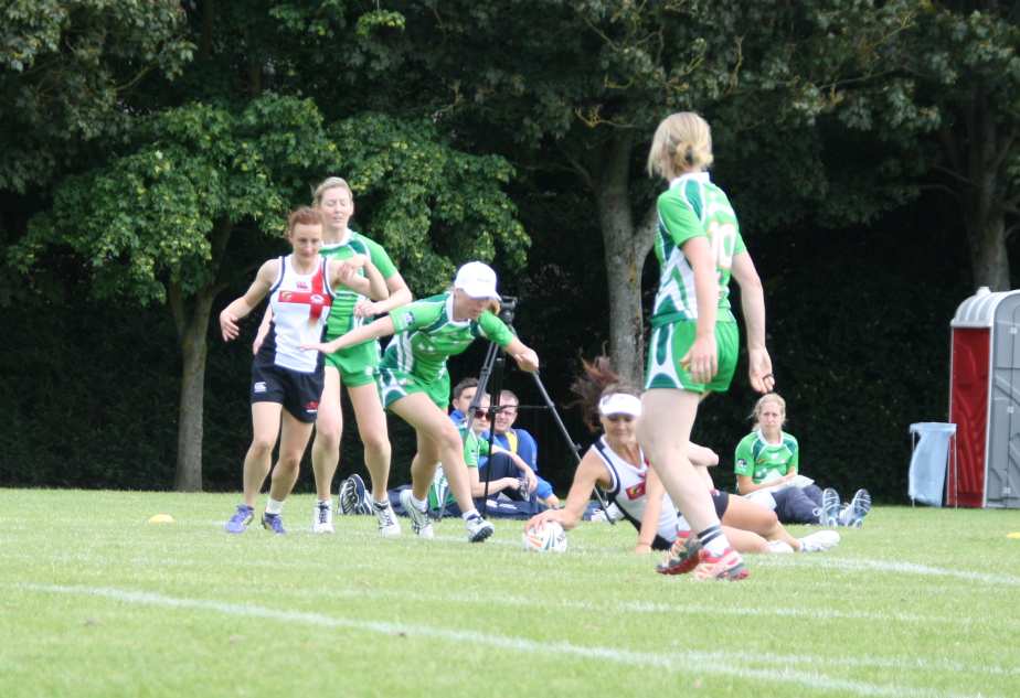 Angela Verniquet - Scores against Ireland