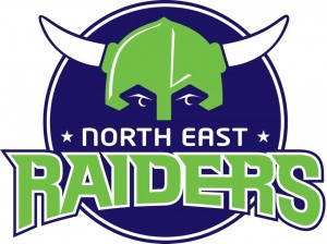 North East Raiders logo